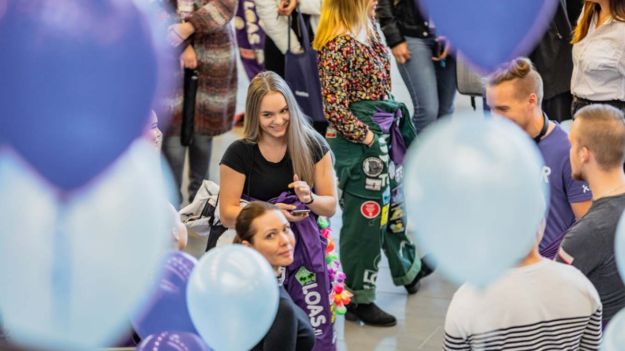 Students on Lappeenranta Campus
